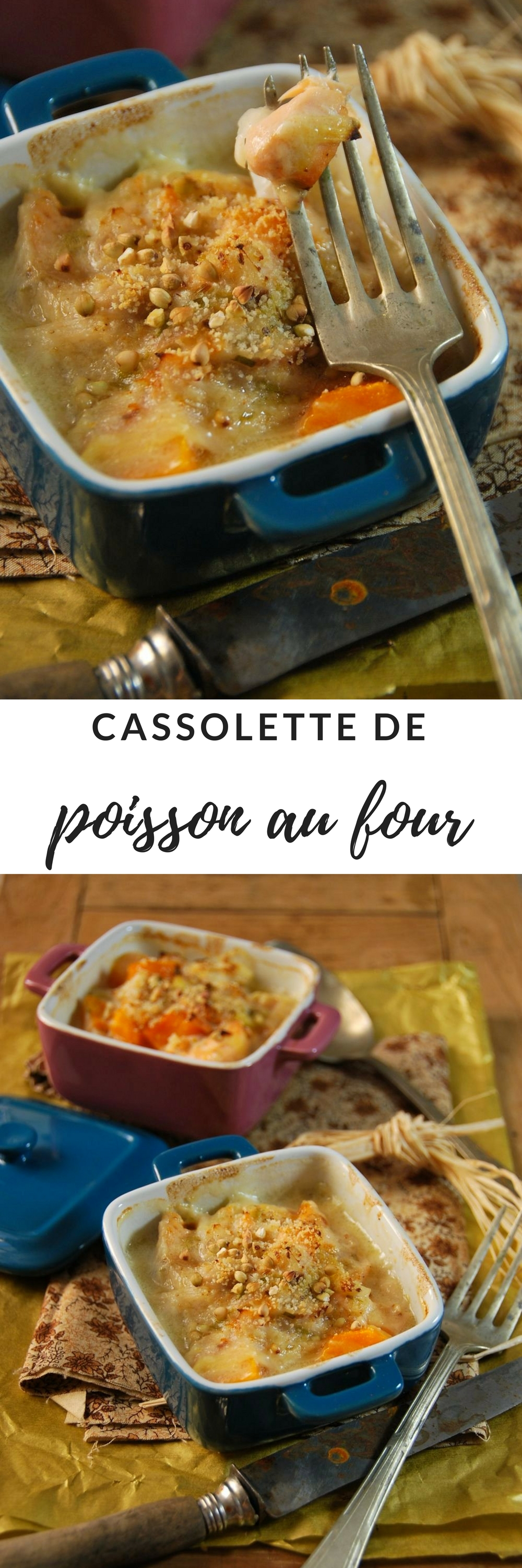 cassolette poisson au four