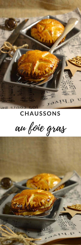 chaussons foie gras