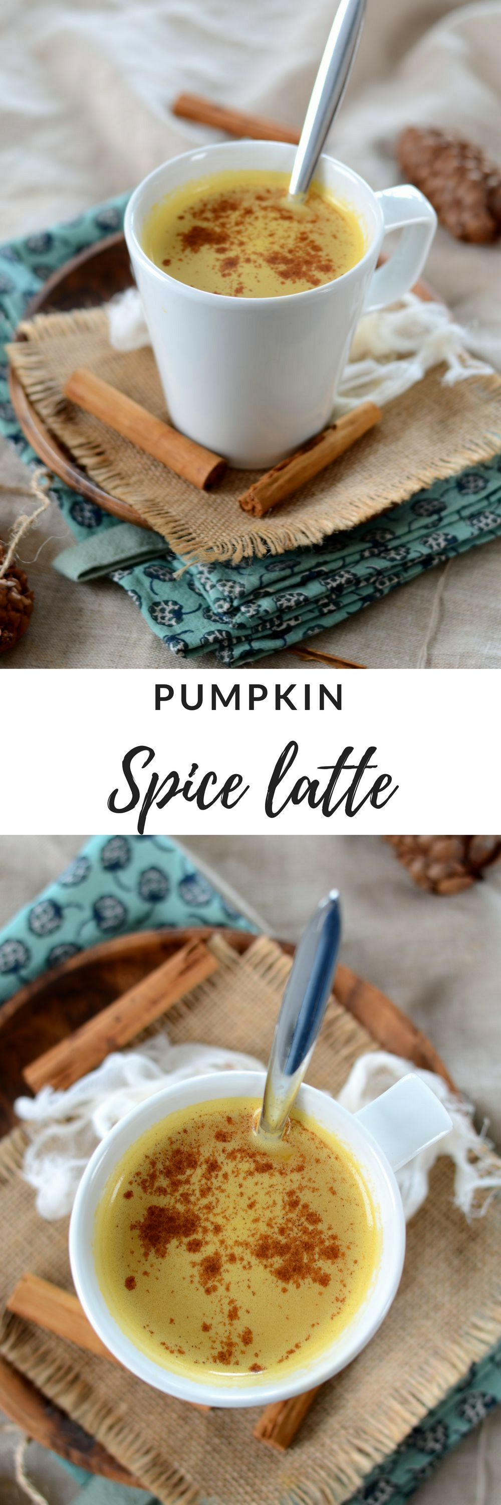 caf latt la courge et aux pices pumpkin spice latte vegan recette tangerine zest. Black Bedroom Furniture Sets. Home Design Ideas