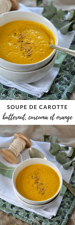 soupe carotte butternut