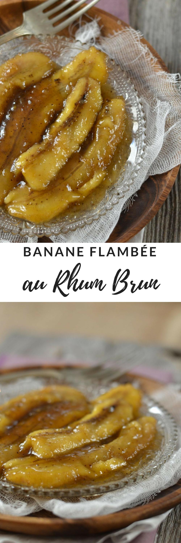 banane flambee