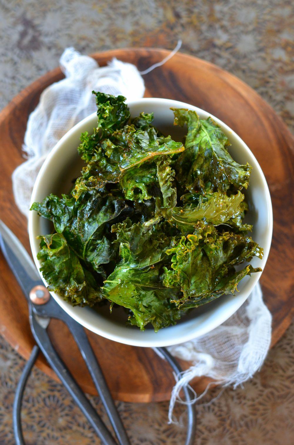 recette Chips de chou kale