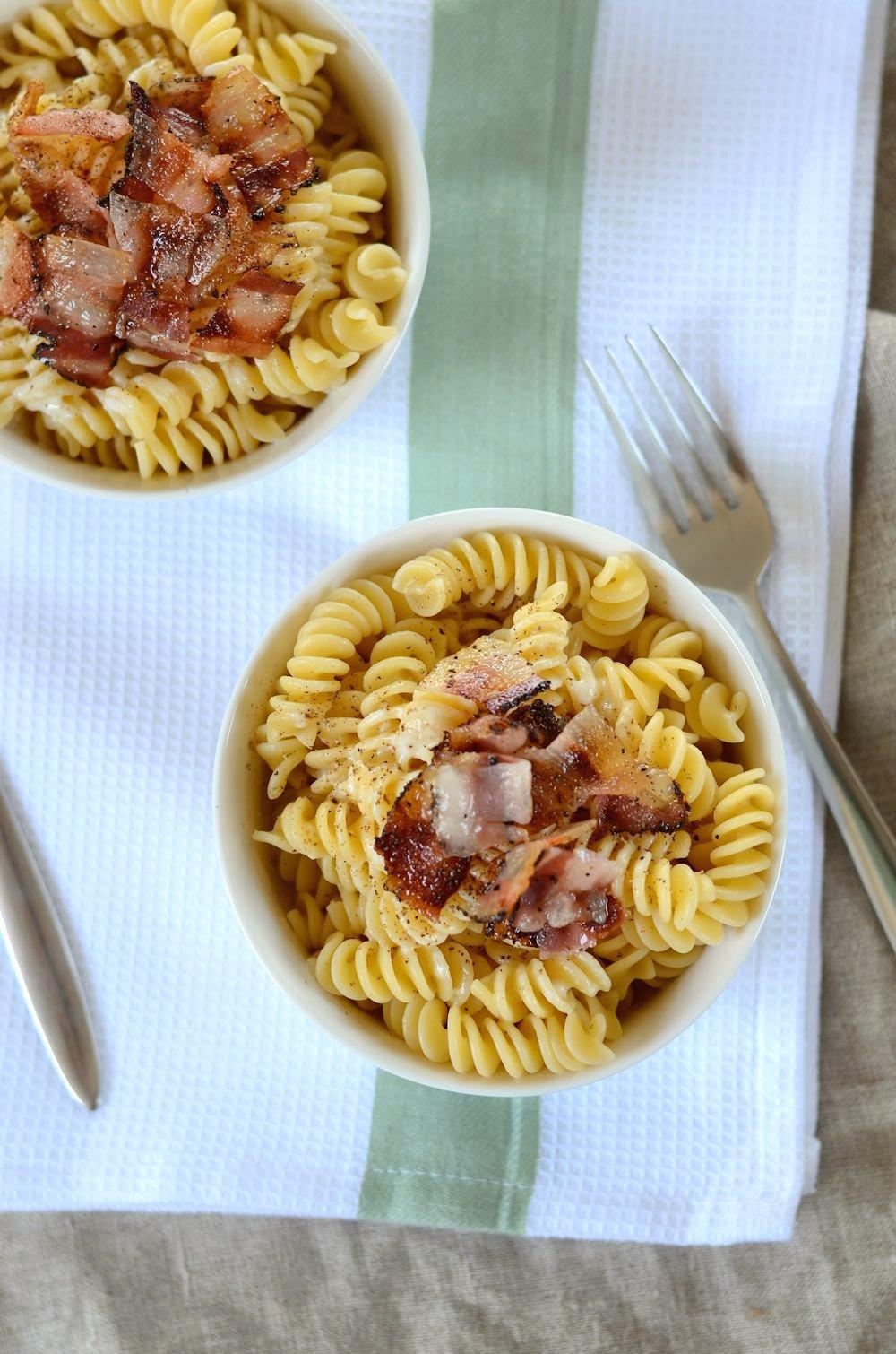 recette de pâtes au pecorino et poivre