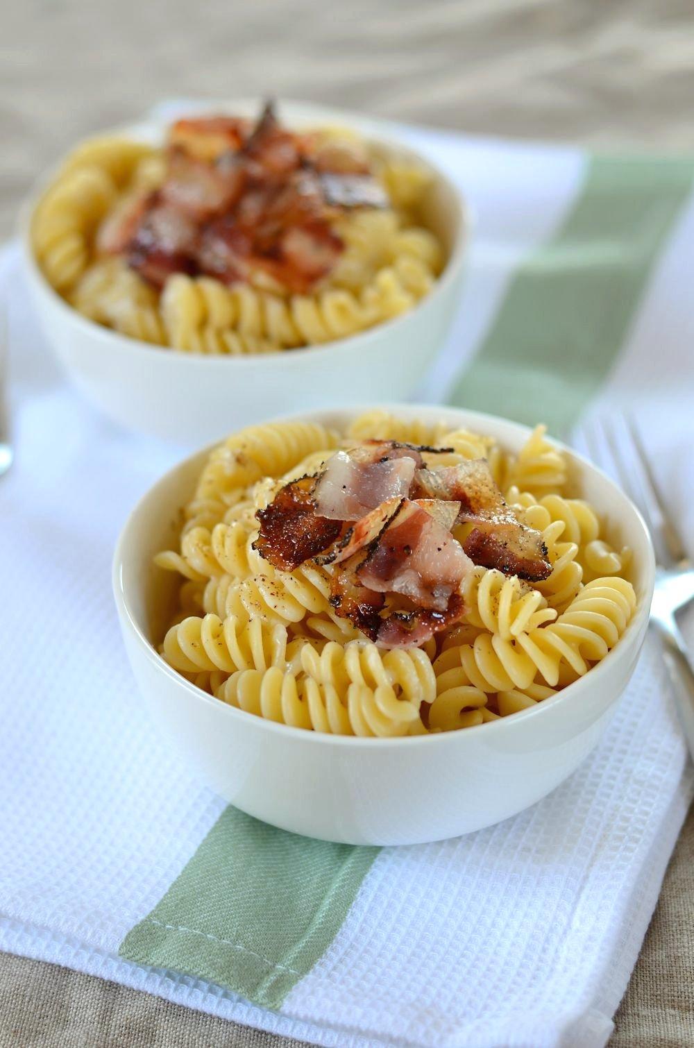 Pâtes cacio e pepe (au pecorino et poivre)