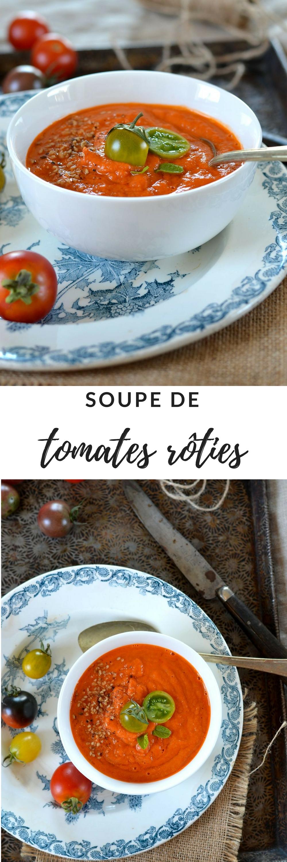 soupe tomates roties