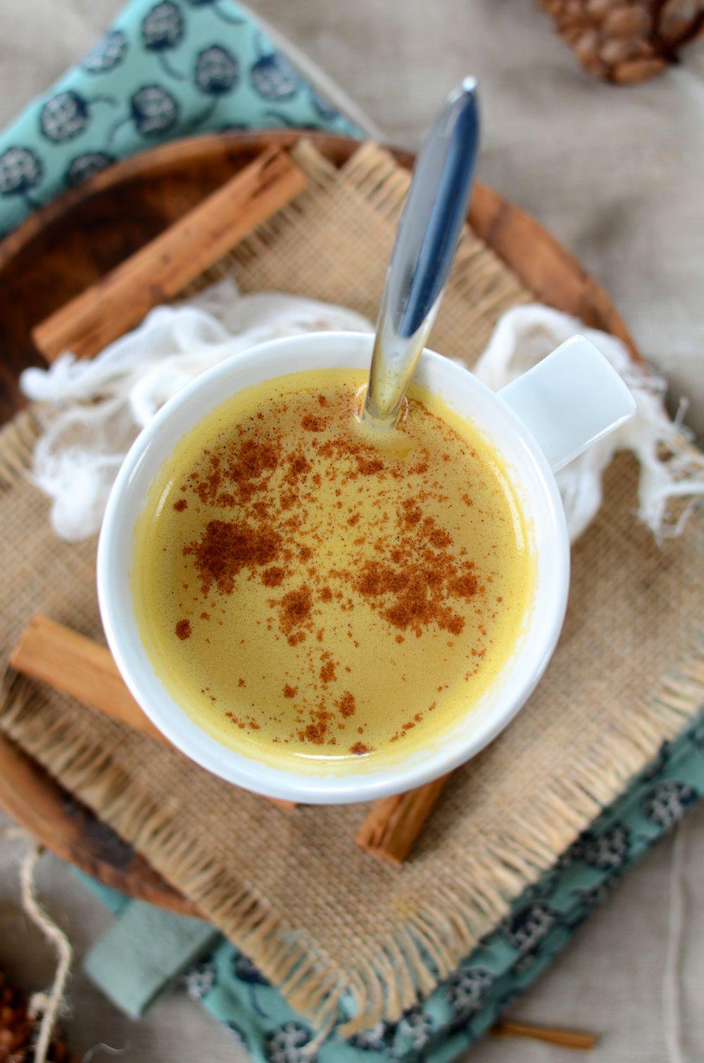 Café latté à la courge et aux épices sans lactose
