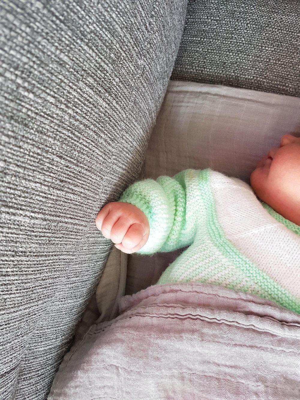 Grande nouvelle : notre petite Louison est arrivée