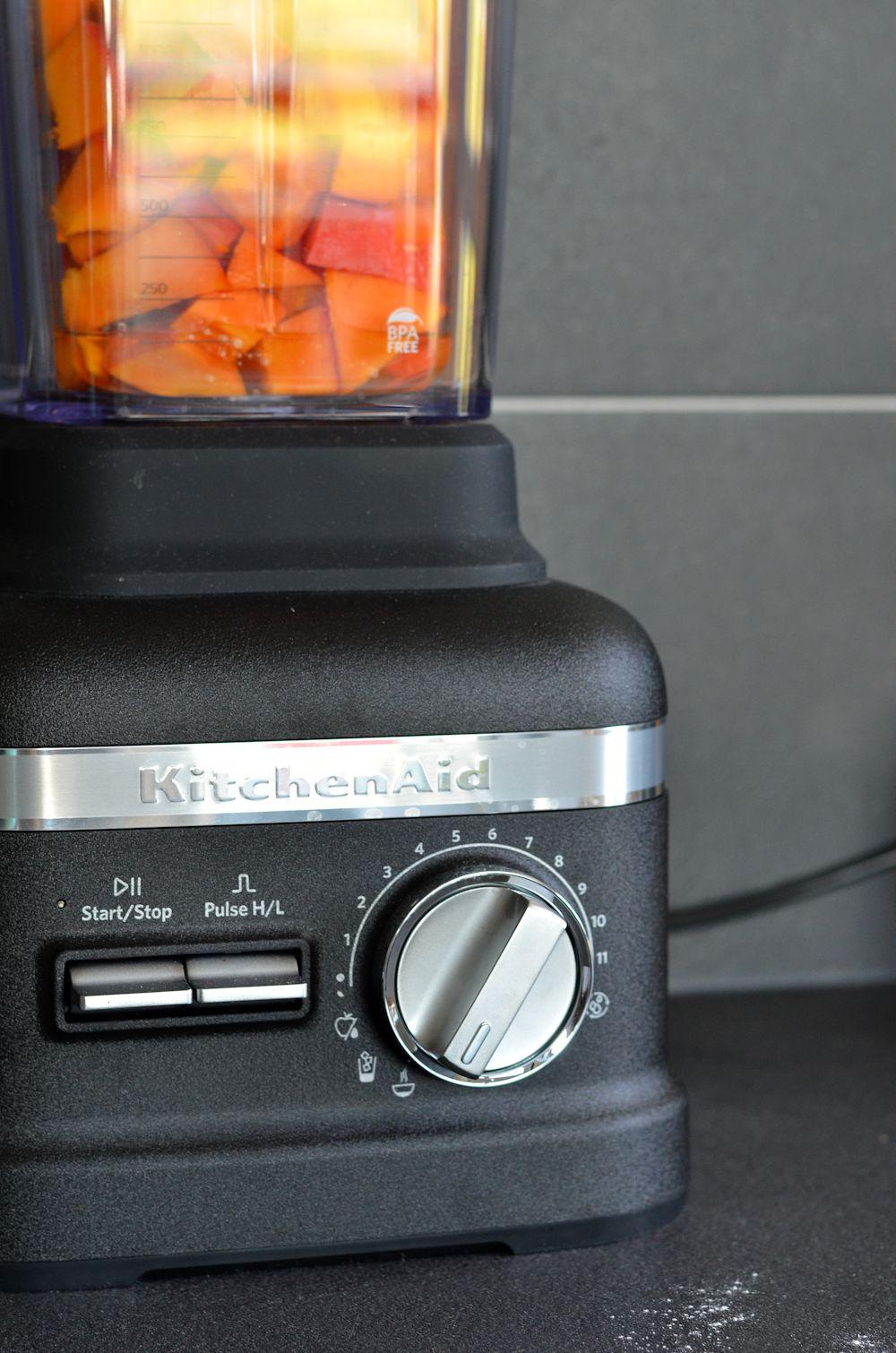 Purée de courge kitchenaid
