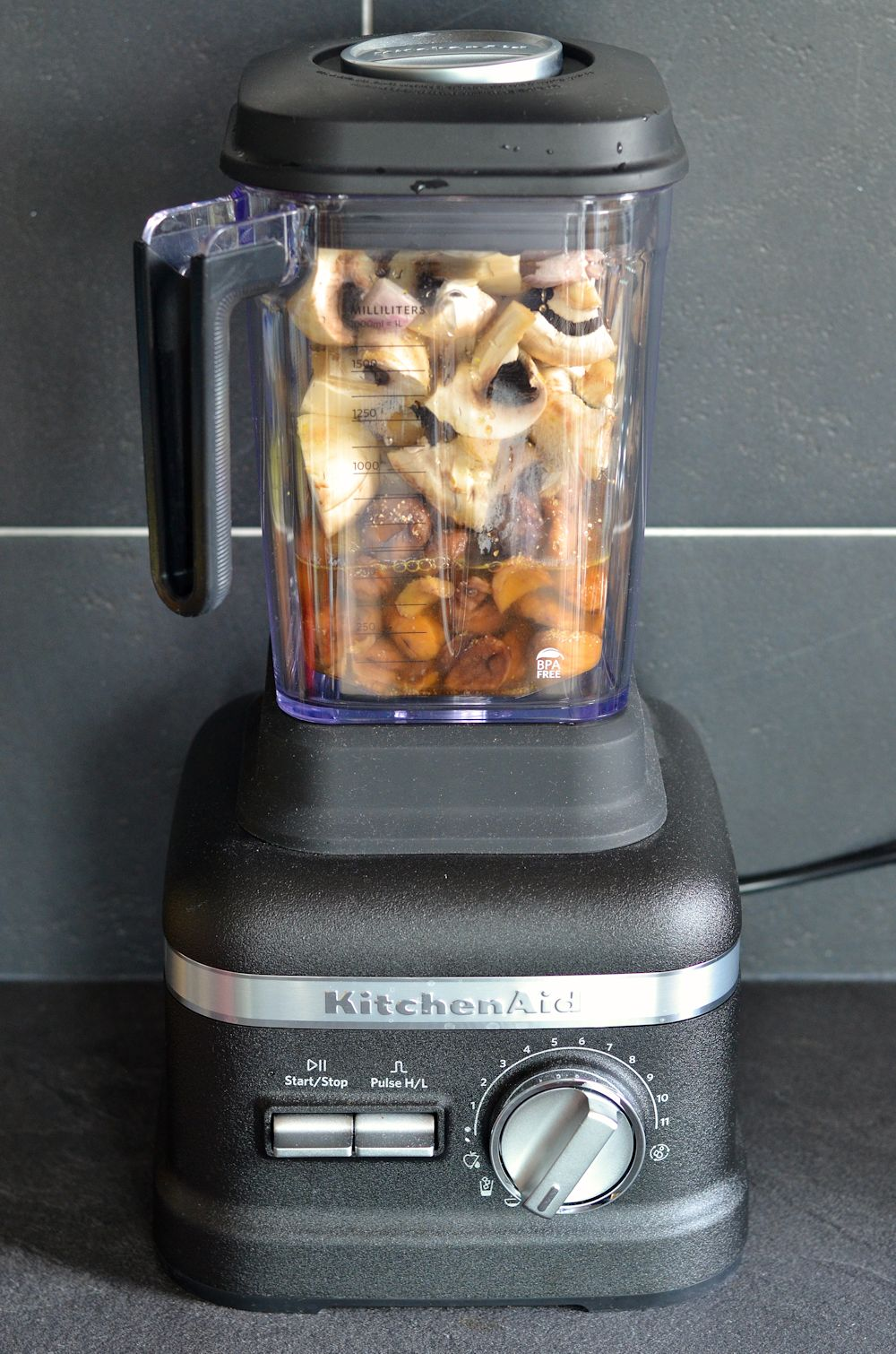 Velouté de champignons et châtaignes