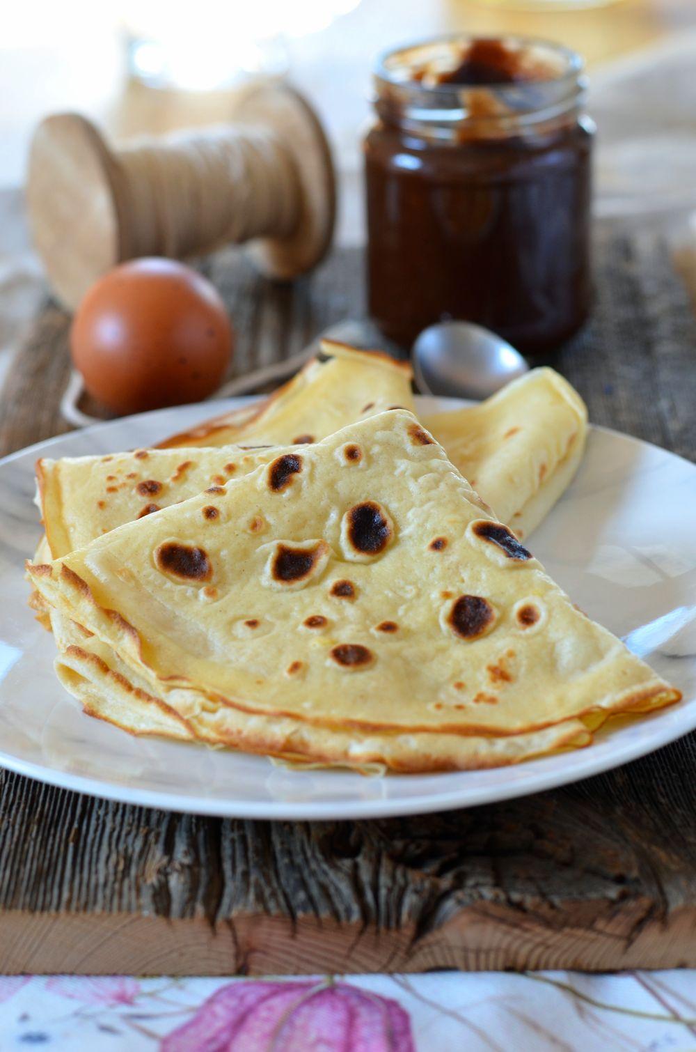 Pate A Crepe Sans Beurre Recette Tangerine Zest
