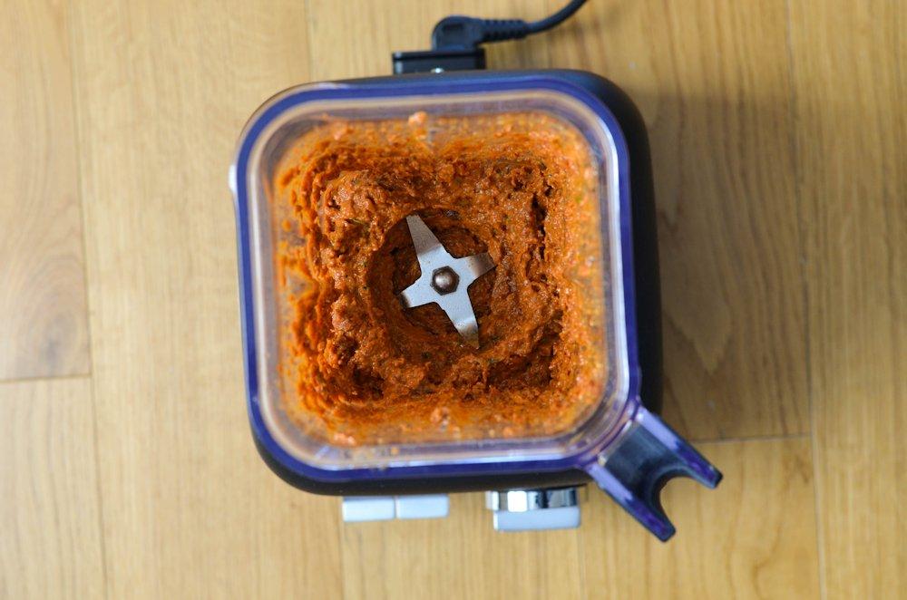 Sauce aux tomates séchées et pignons