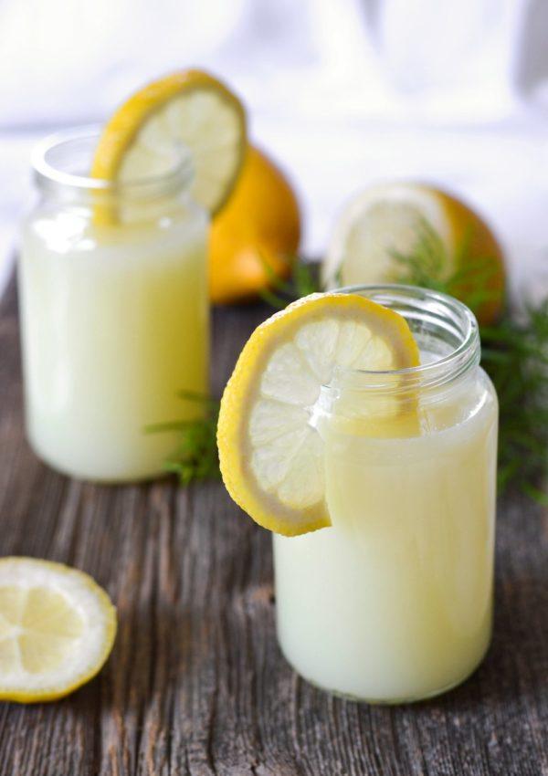 Limonade maison au blender