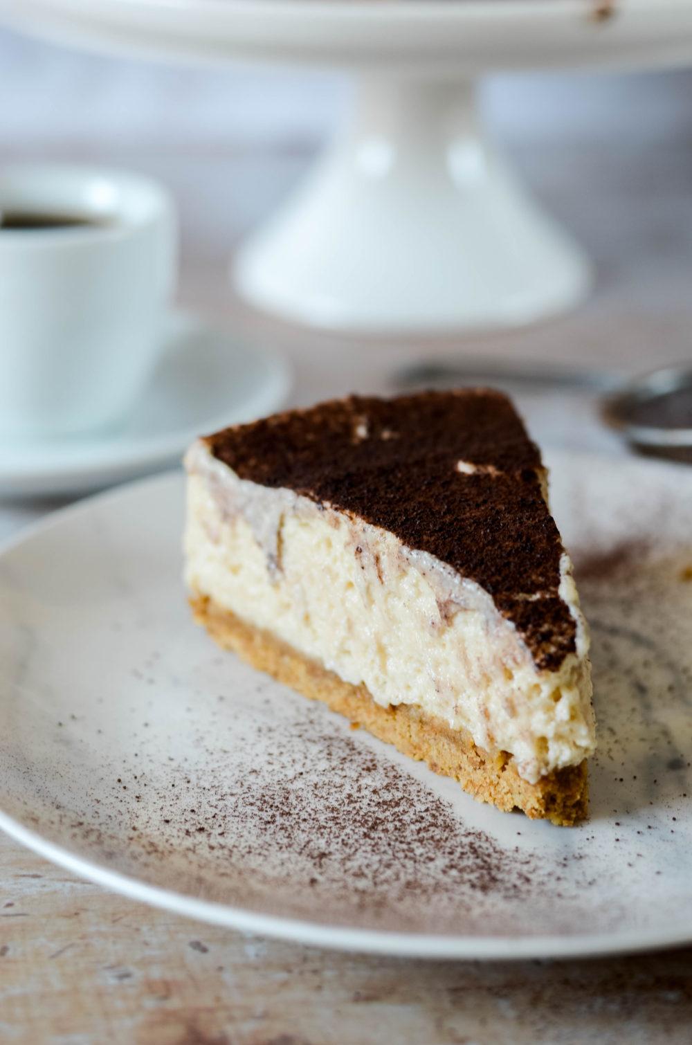 Cheesecake façon tiramisu sans cuisson