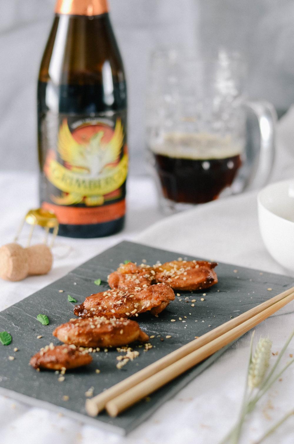 recette japonaise et bière