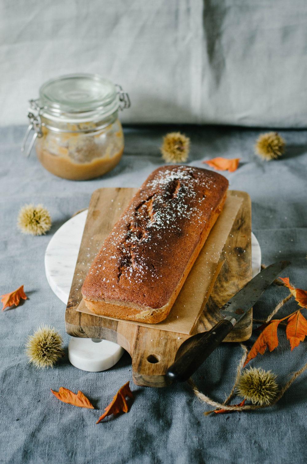 cake à la crème de marron
