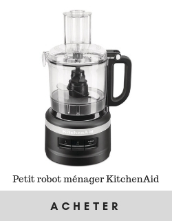 petit robot menager kitchenaid