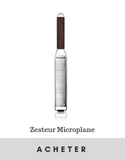 zesteur microplane