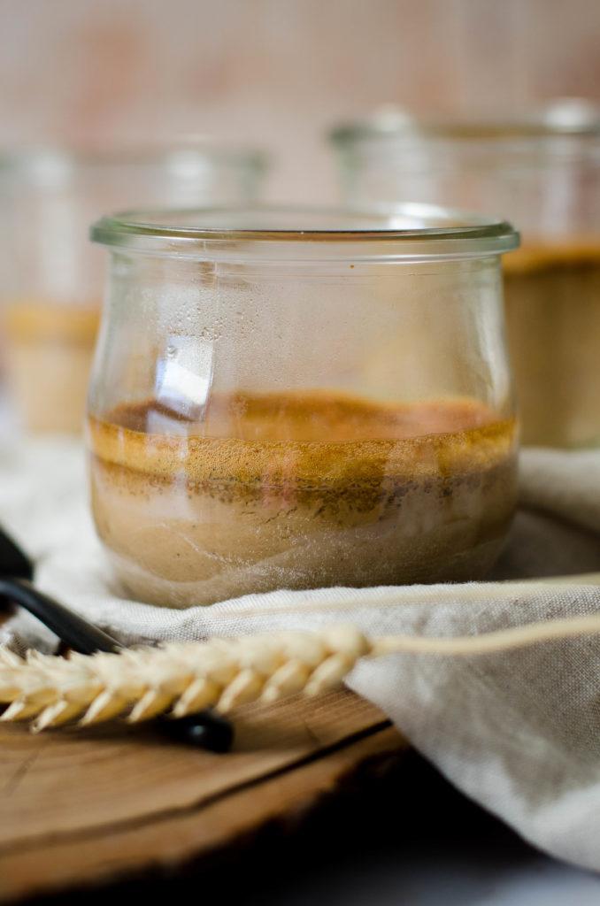 Crème dessert chocolat et café