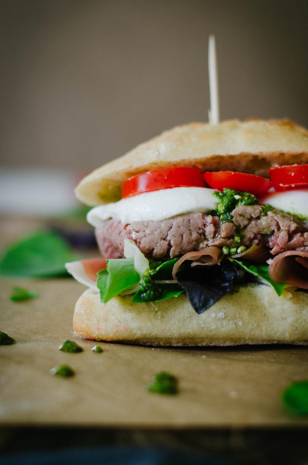burger à l'italienne
