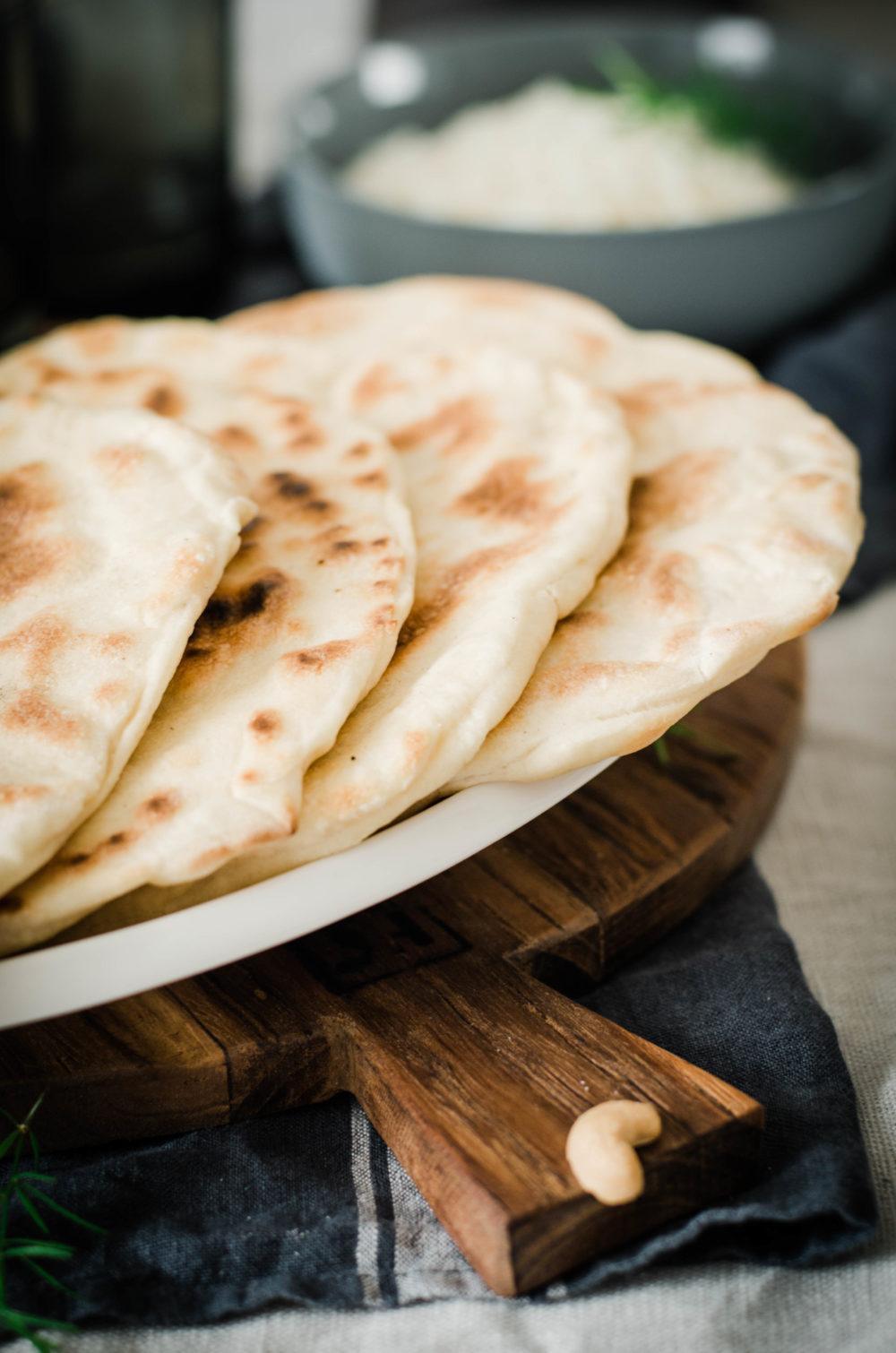 recette pain naan indien
