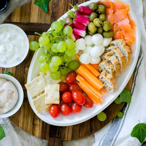Plateau apéritif dînatoire healthy