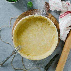 pate a tarte sans beurre sans oeuf maison