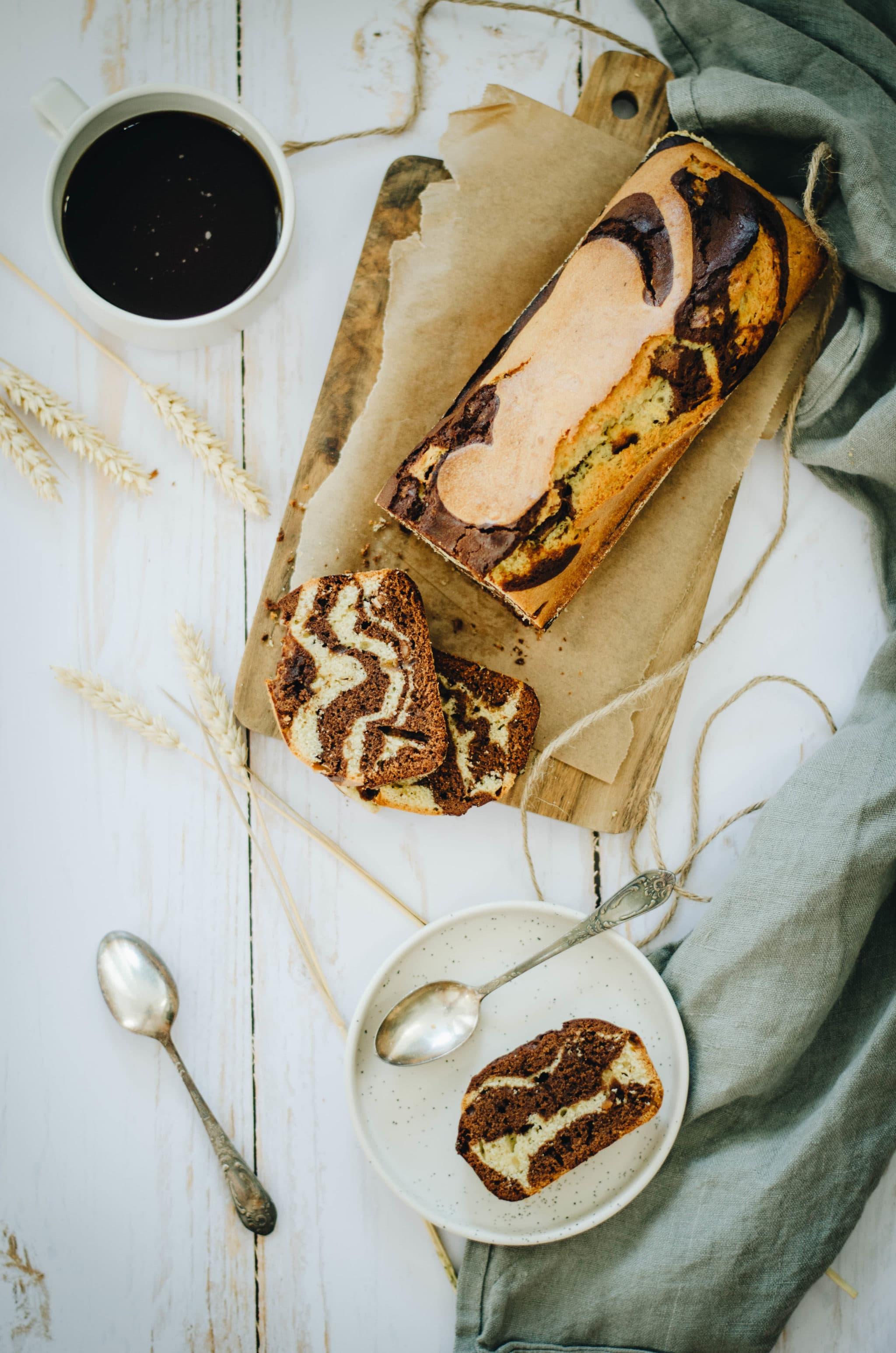 Cake cacahuète chocolat