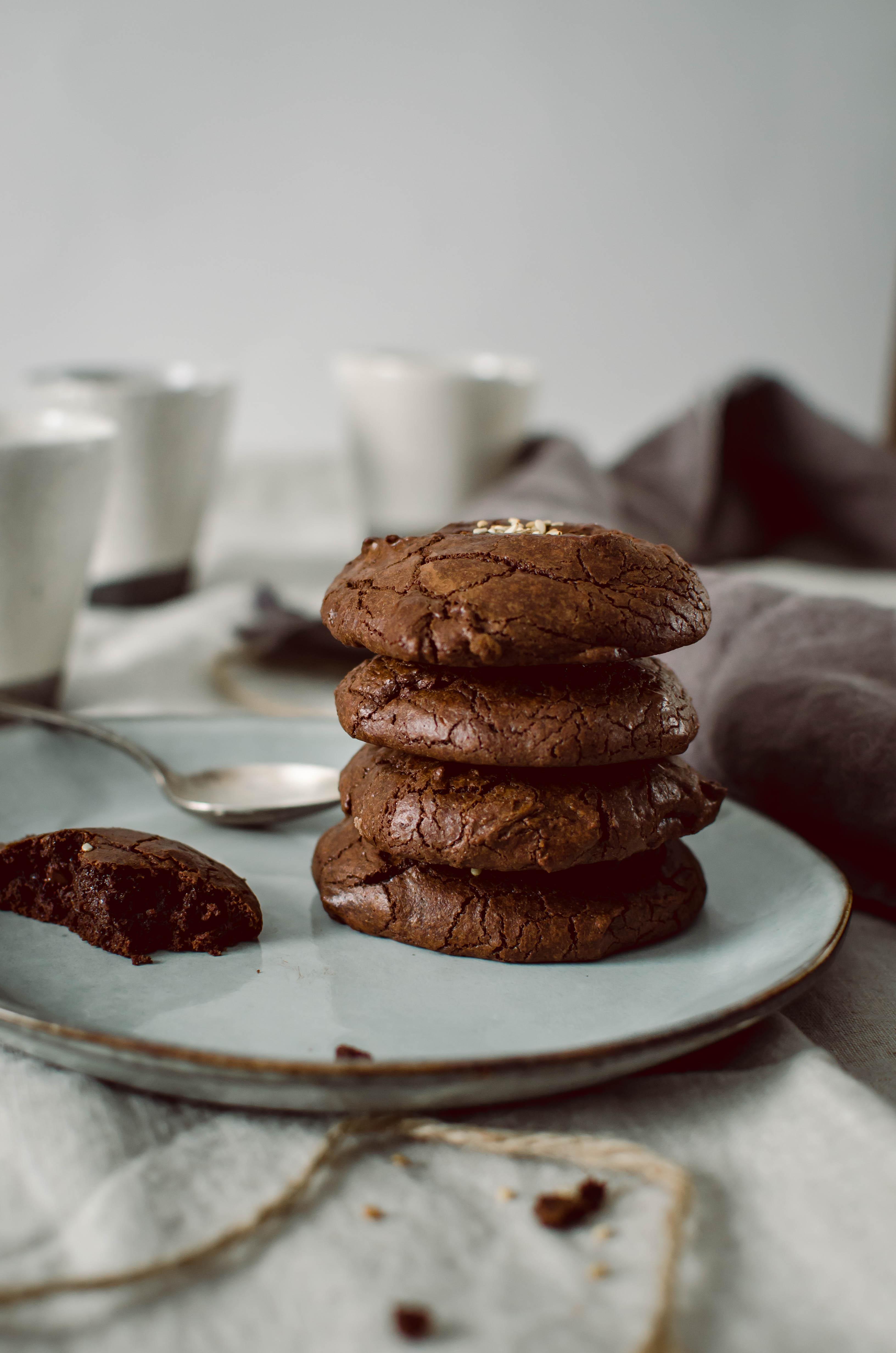Cookies Tout Chocolat Recette Facile Et Rapide Tangerine Zest