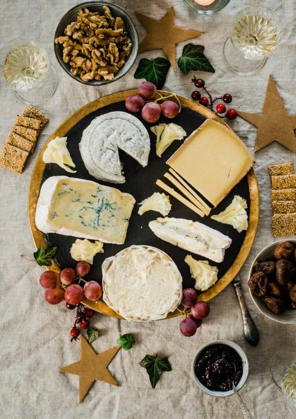 Plateau de fromages parfait pour Noël