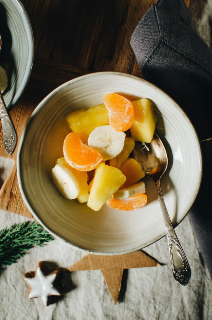 ananas mangue banane clementine