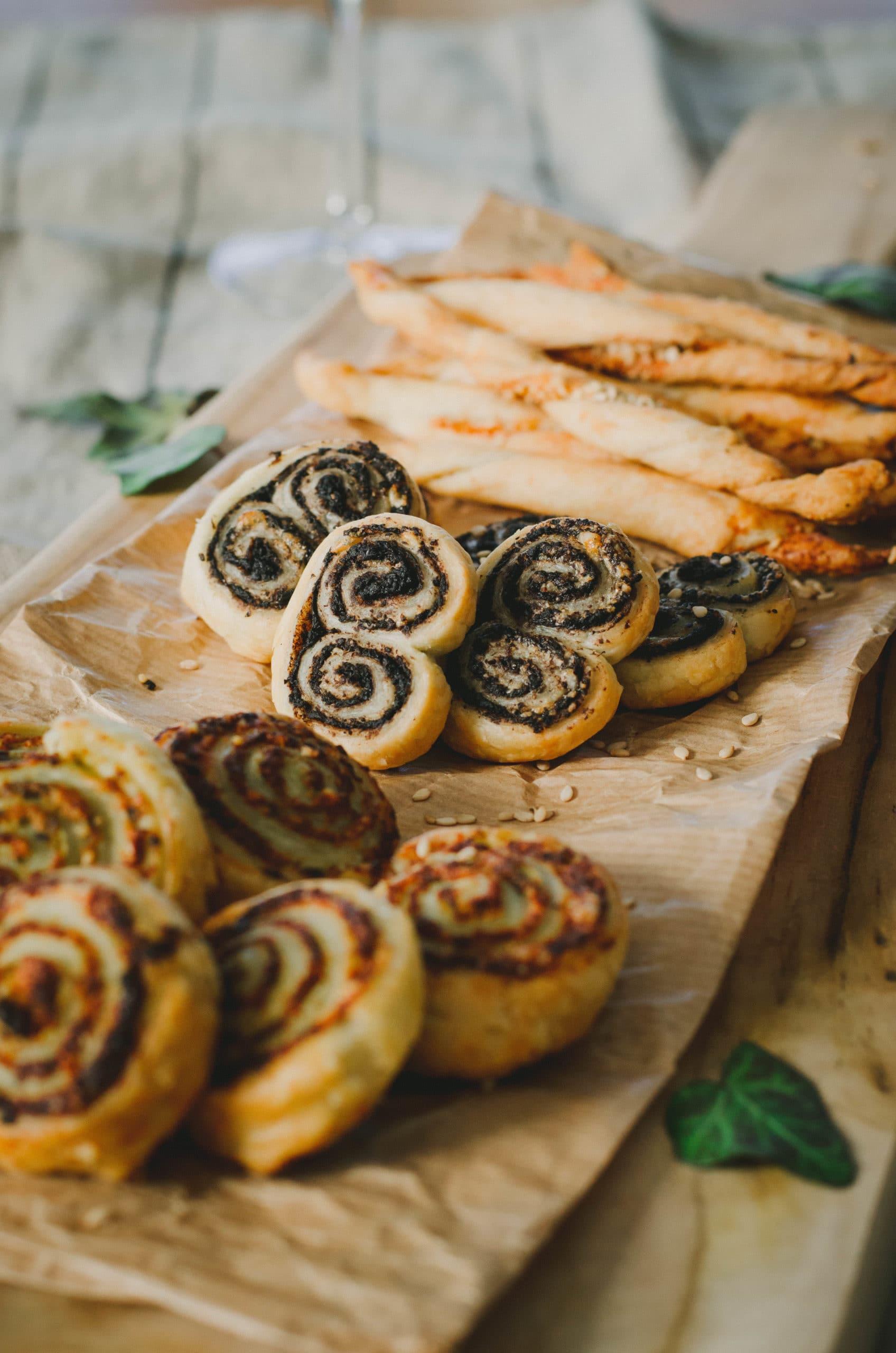 Recette biscuits apéritifs tapenade