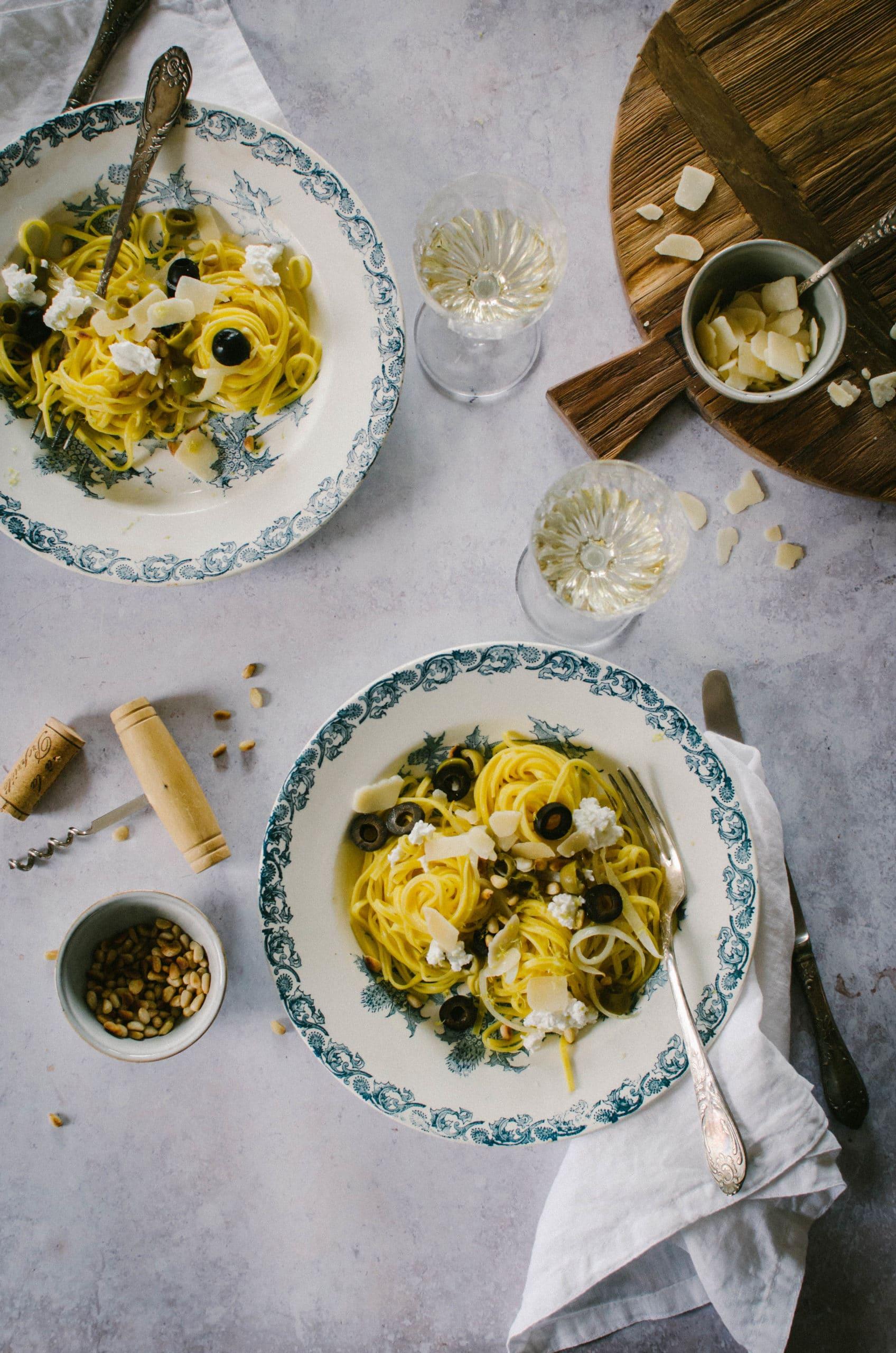 pates aux olives