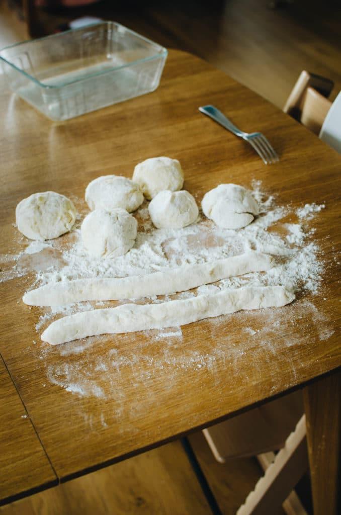 recette Gnocchi maison de pomme de terre etape 3