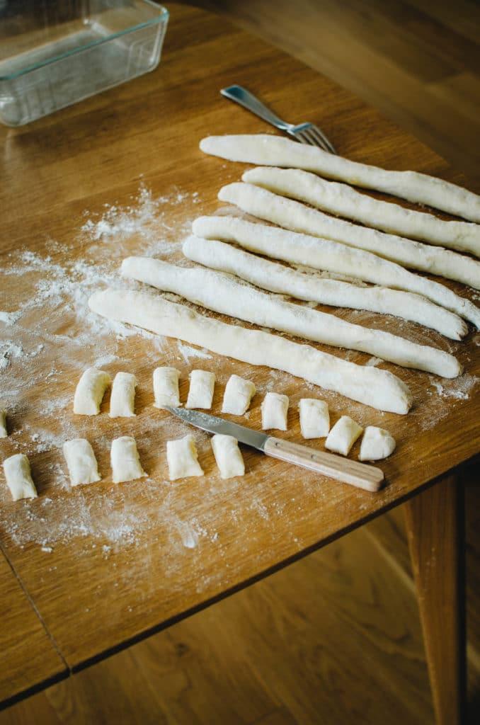 faire ses propres pâtes de pomme de terre etape 4