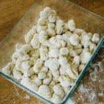 Gnocchi maison de pomme de terre