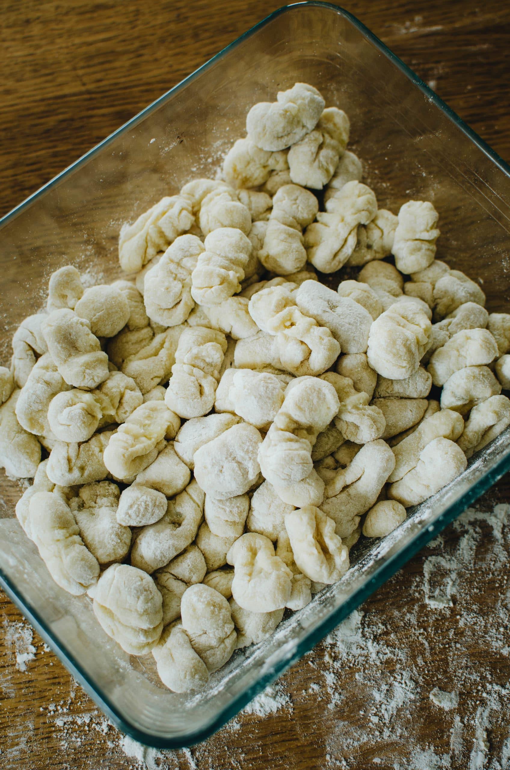 faire ses propres pâtes de pomme de terre à la maison