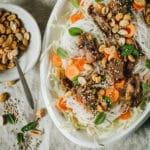 Salade vietnamienne au poulet