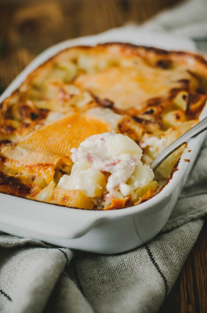 gratin patate fromage