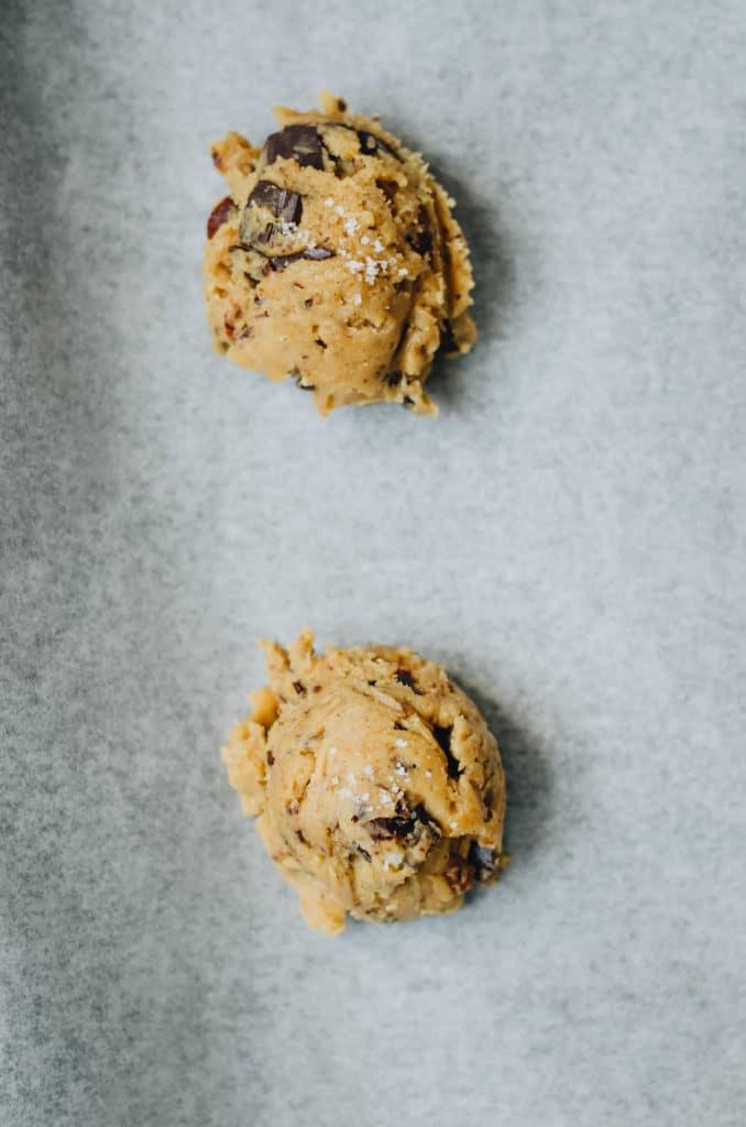 Cookies moelleux chocolat et noisette