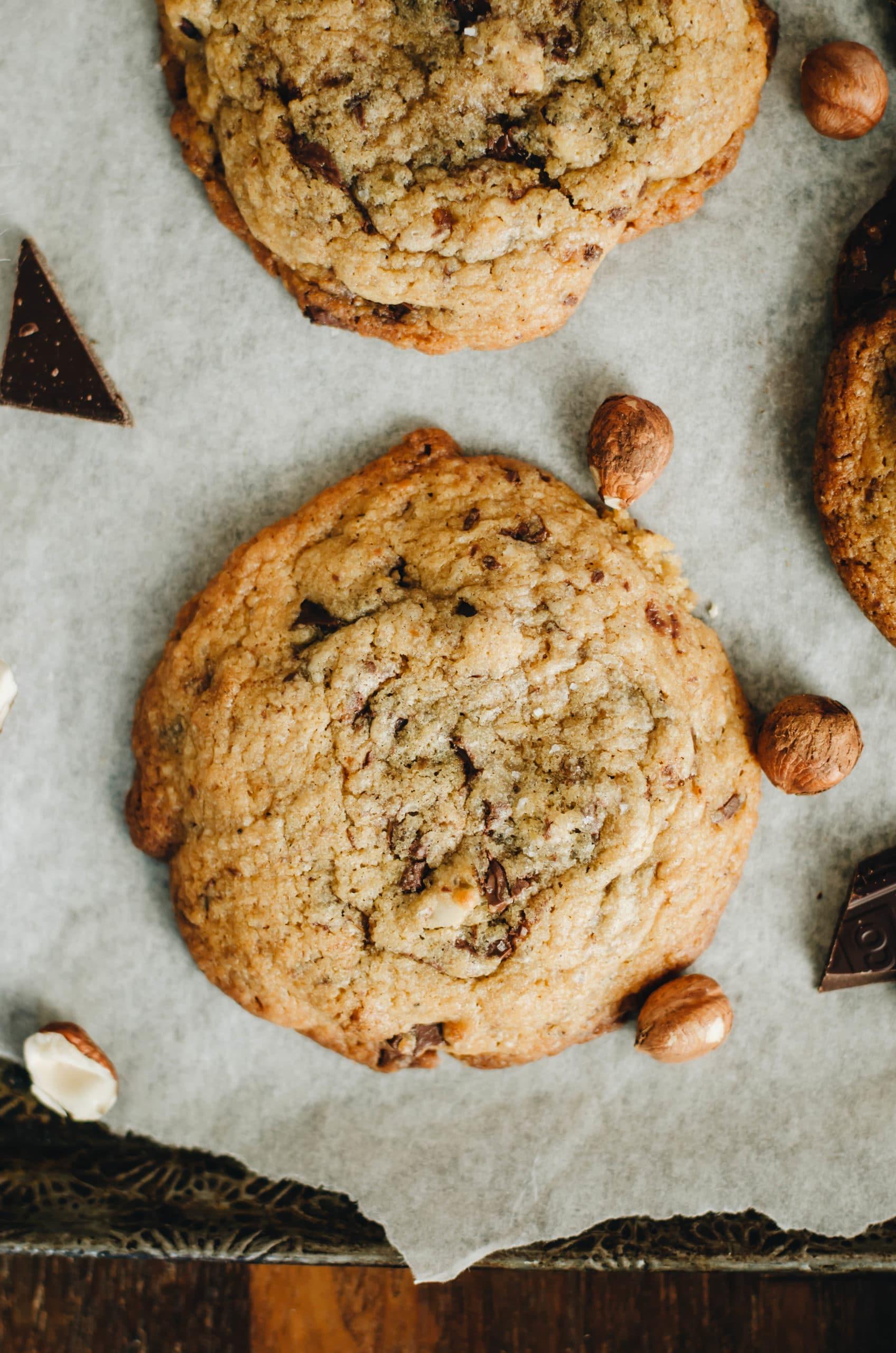 Biscuits moelleux chocolat et fleur de sel