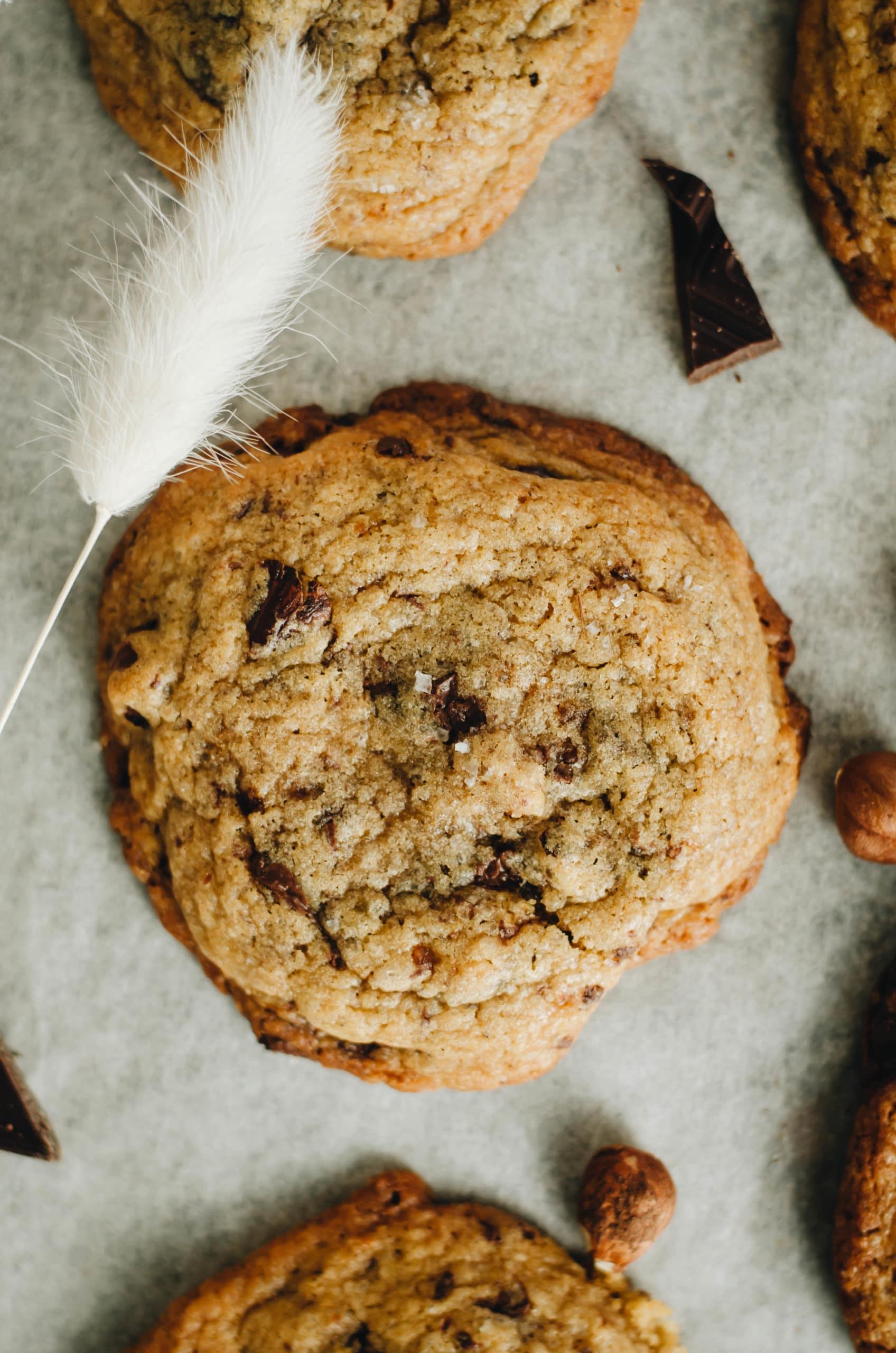 Cookies moelleux chocolat et fleur de sel