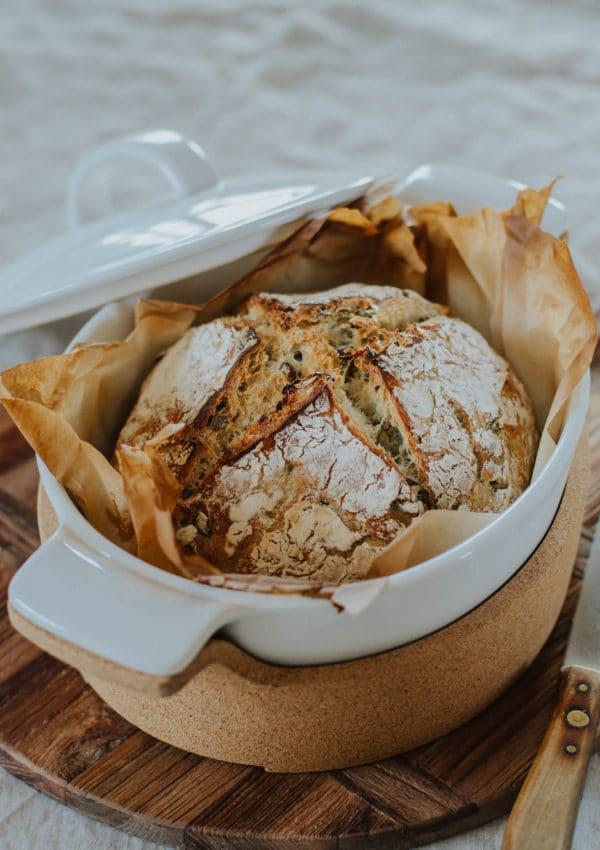 pain cocotte maison sans petrissage