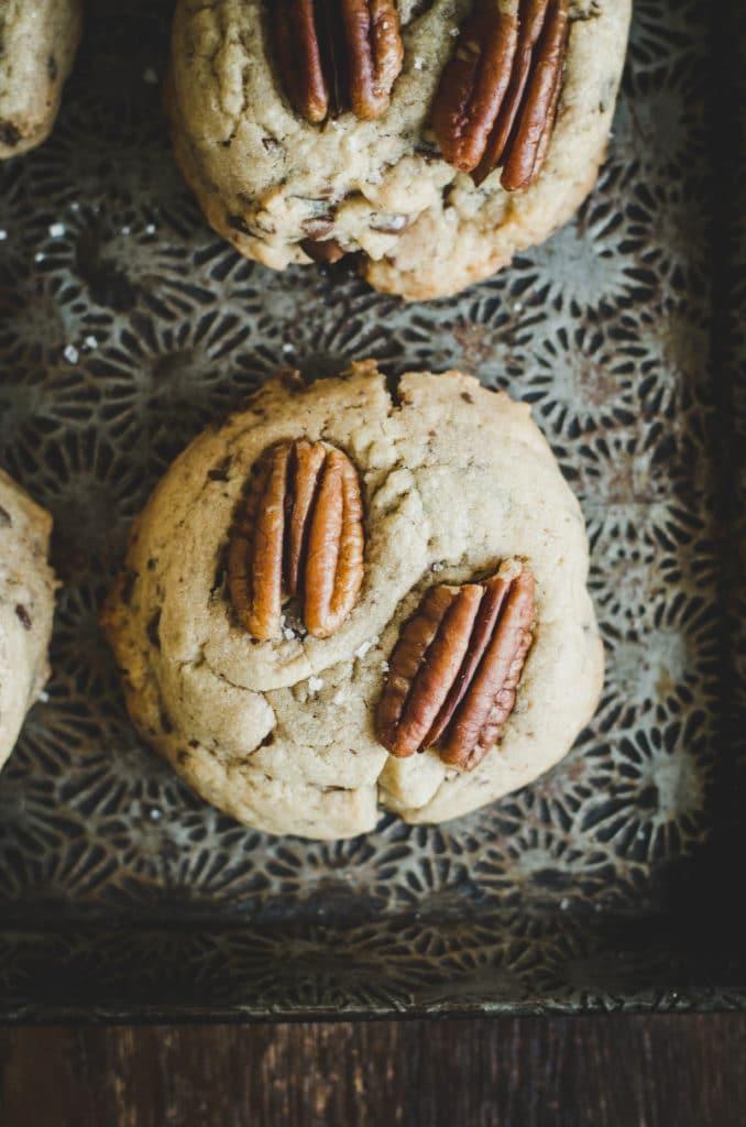cookies chocolat pecan