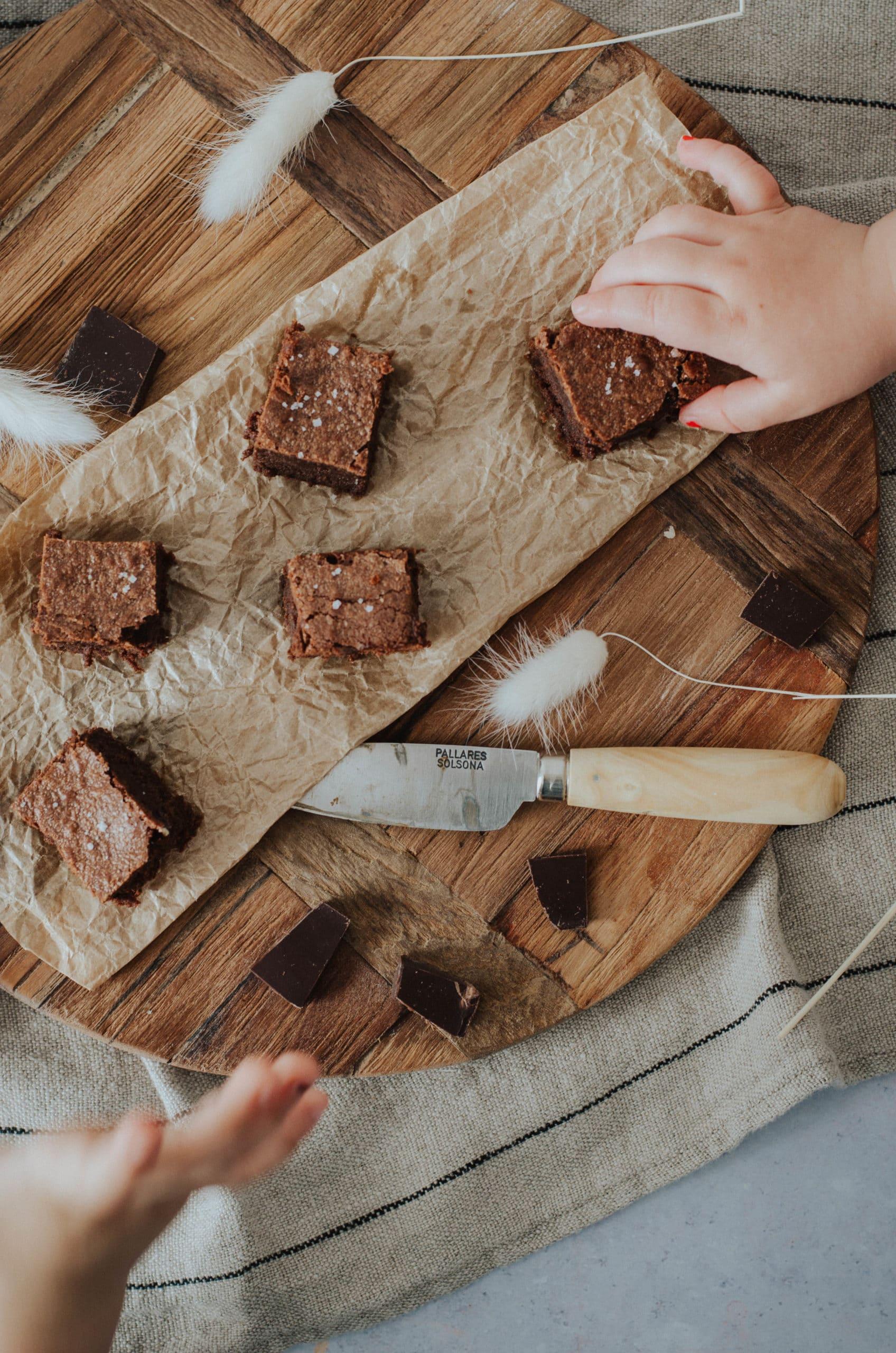 Fondant au chocolat et fleur de sel