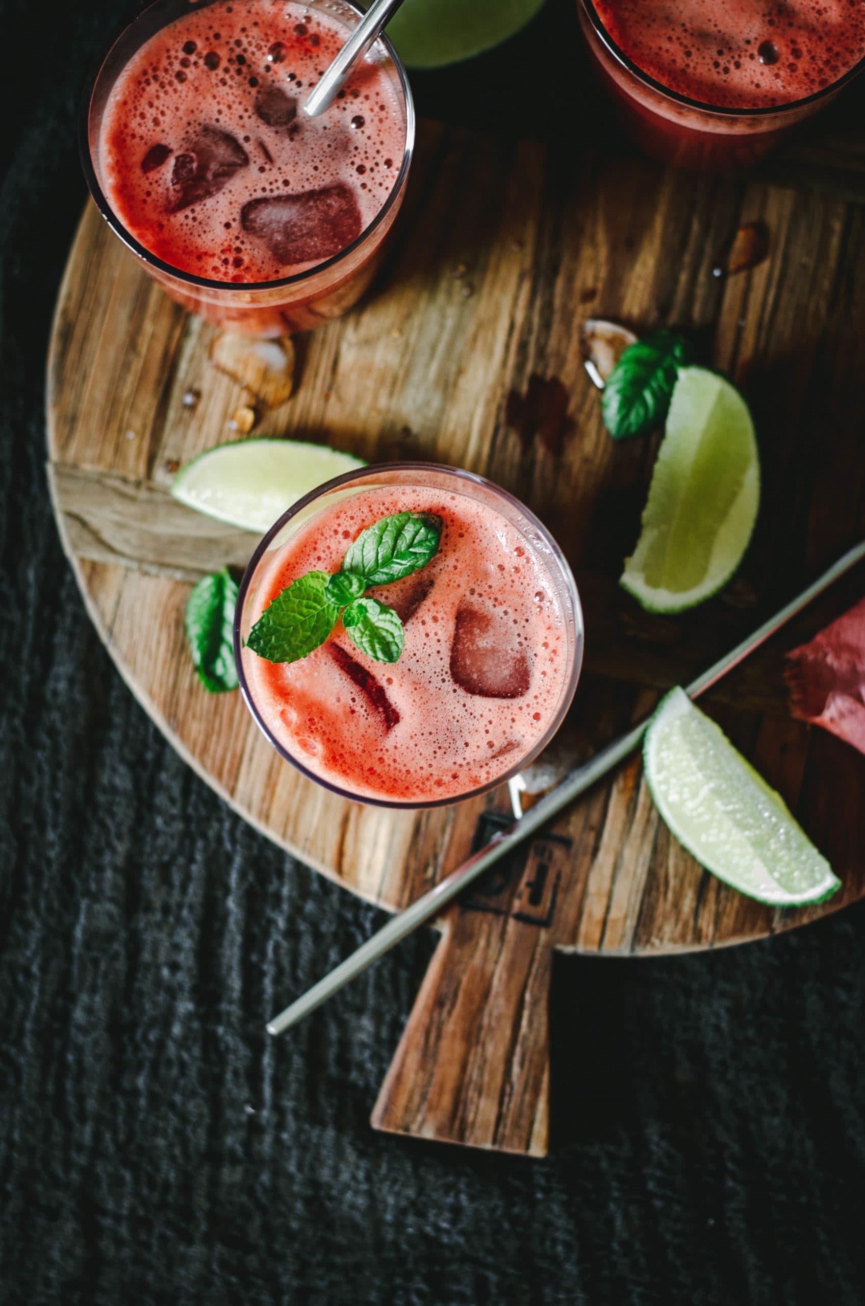 Recette de boisson estivale