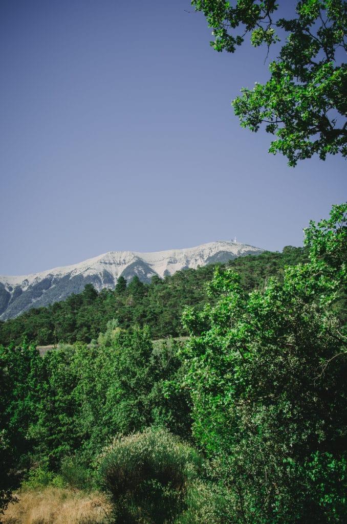 Face nord du Mont Ventoux