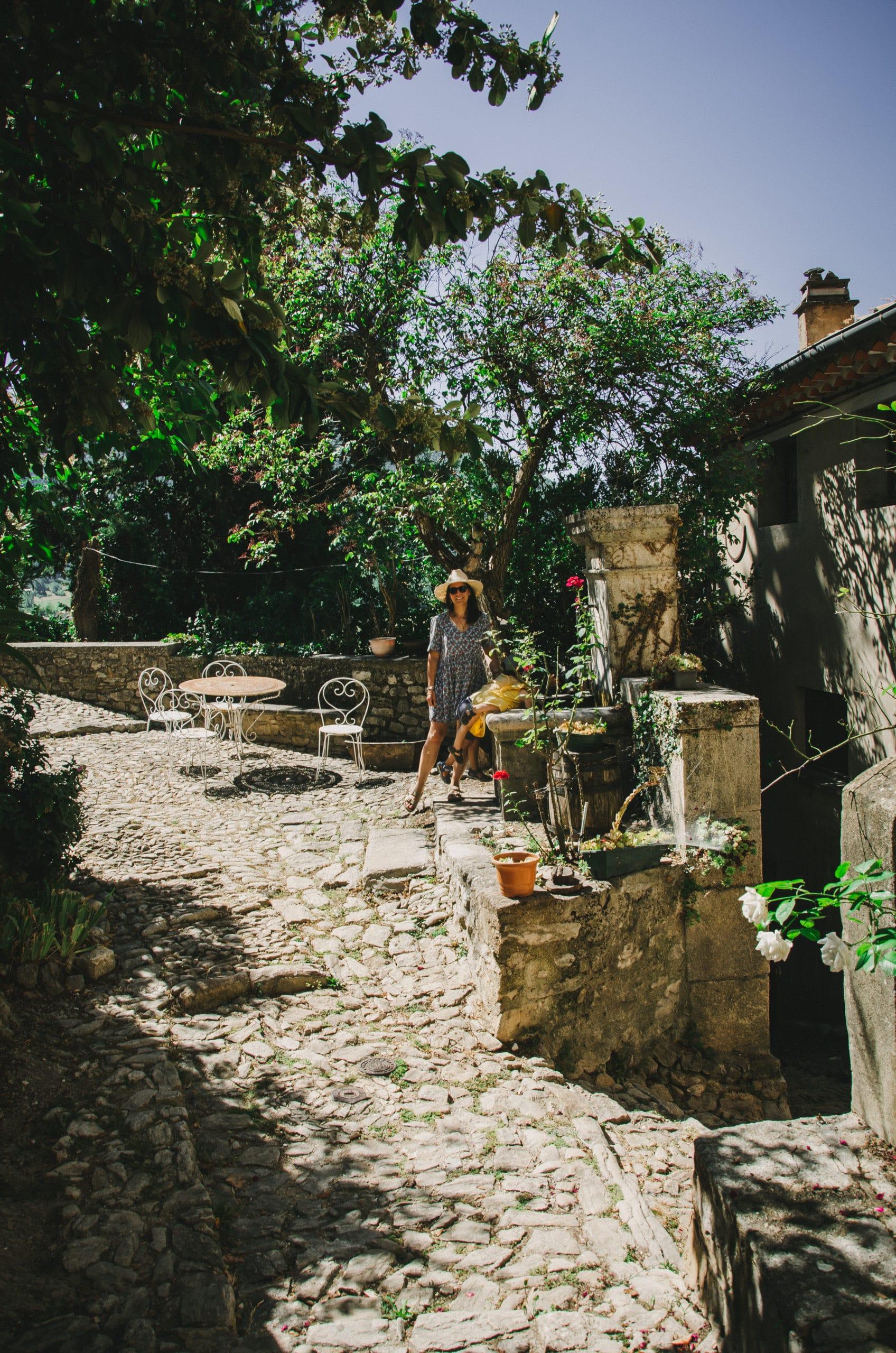 Plus beau village de France Montbrun-les-Bains