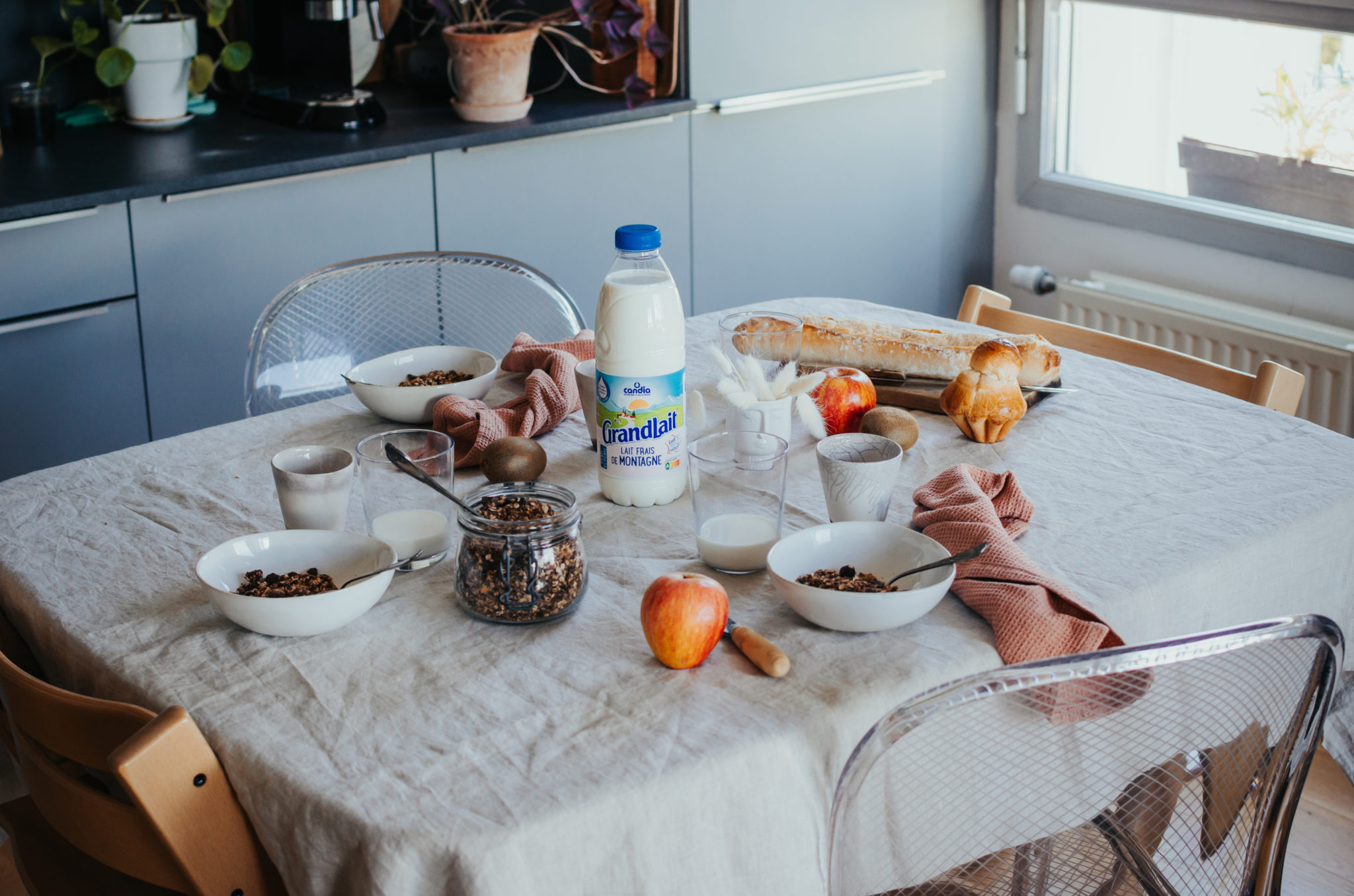 Granola maison au chocolat