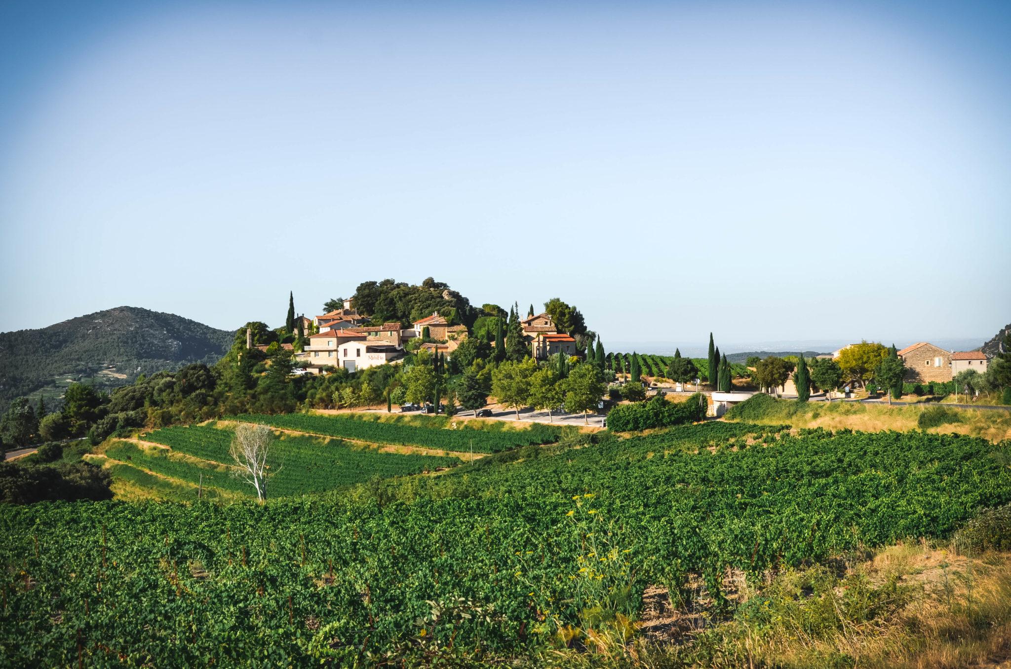 Village de Suzette Vaucluse Provence