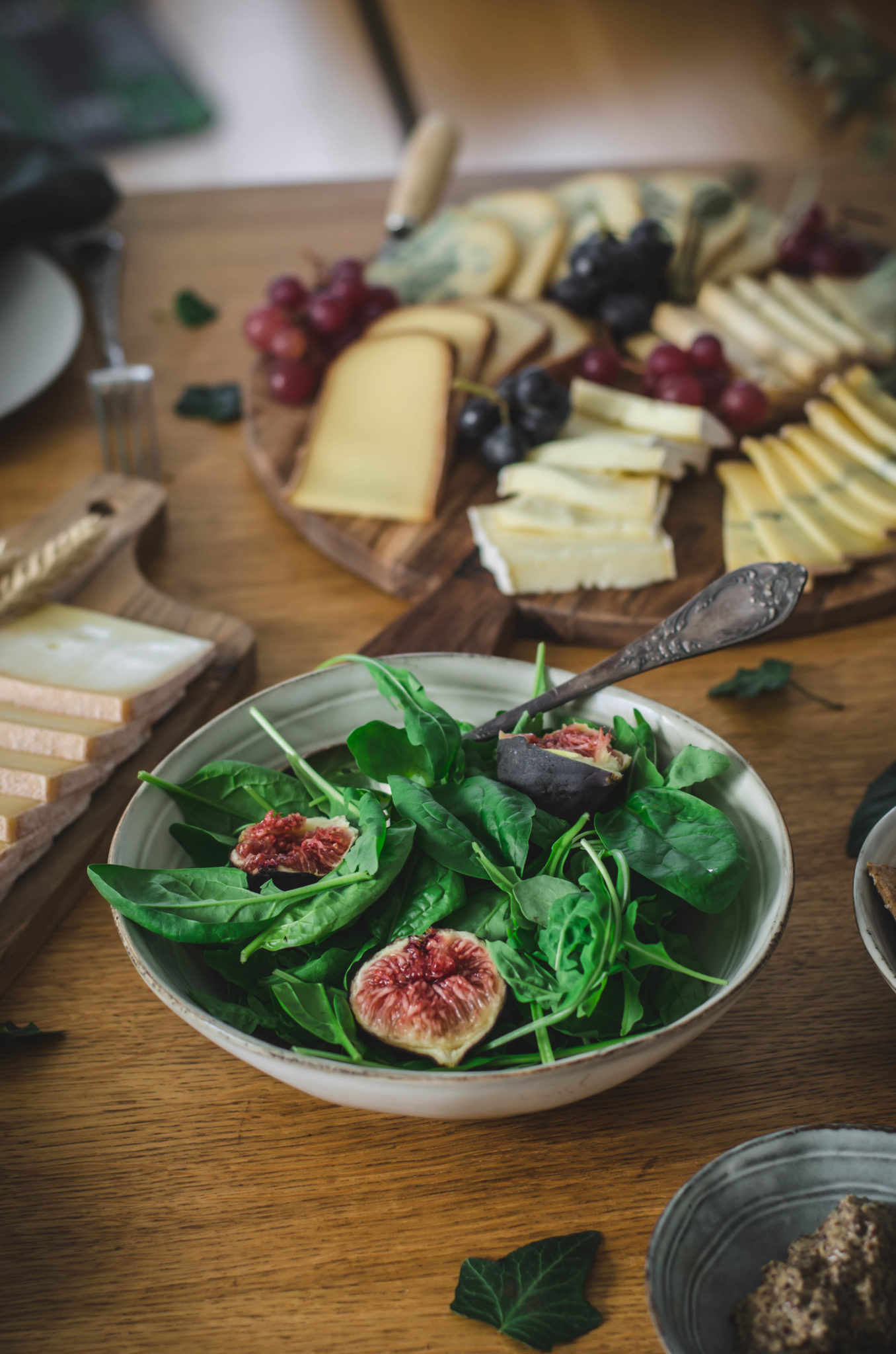 Salade composée pour accompagnement